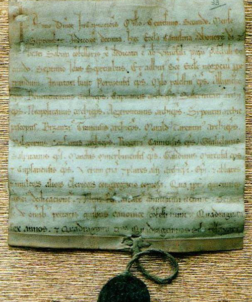 Pergamena-Papa-Pasquale-II